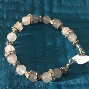 Jewelry - Healing Quartz rhinestone bracelet